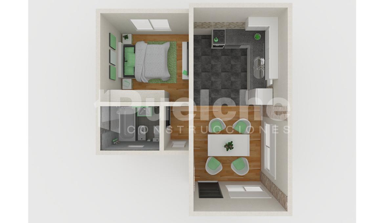 planta 1 dormitorio